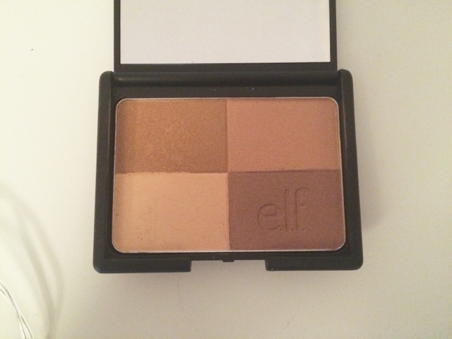 elf, blush, bronzer, baked eyeshadow, lipstick, eye palette, mascara, black, friday,