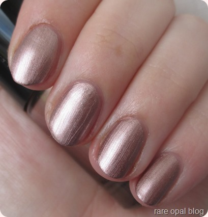 Catrice Ultimate Nail Lacquer Go For Gold! (Rose Gold Nail Polish)