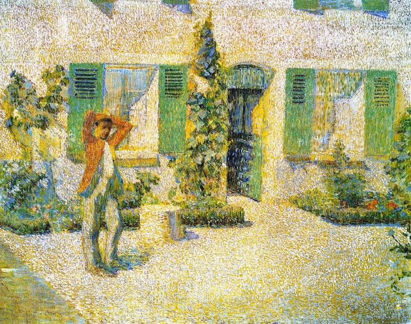 Philip Leslie Hale - French farmhouse