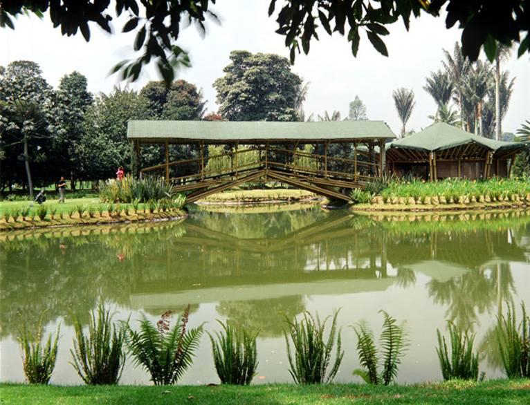 Fiestas en jardines bot nicos for Casa de eventos jardin del lago cali