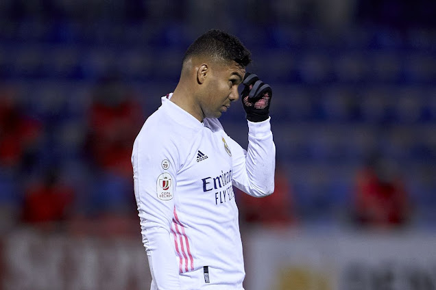 Pasukan Division 3 Kalahkan Real Madrid Dalam Copa Del Rey 2021.
