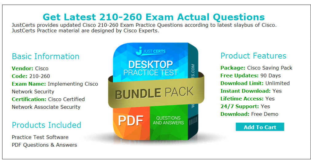 Cisco 210 260 Dumps - Lead2exam 210-260 Dumps | Cisco CCNA 210-260
