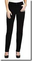 NYDJ Black Overdye Skinny Jeans