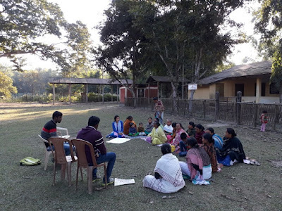 Dream building, self assessment and action plan at Mulagaon Chennapara, Bongaigaon