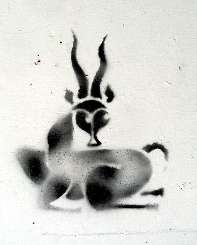 Swiss Streetart Stencil