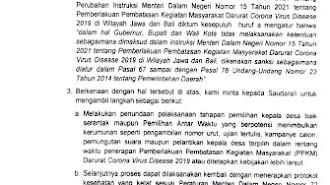 Surat Kemendagri : Tunda Pilkades Serentak dan PAW, Ini Kata DPMD Karawang !