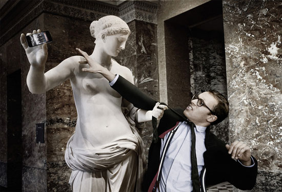 Obras maestras de la escultura con look hipster