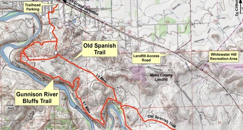 rout stage one ... Old Spanish Trail close
