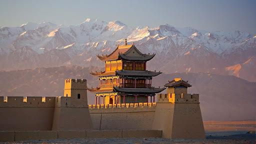 Jiayuguan on the Great Wall, Gansu Province, China.jpg