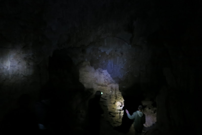 Large chamber inside the first cave