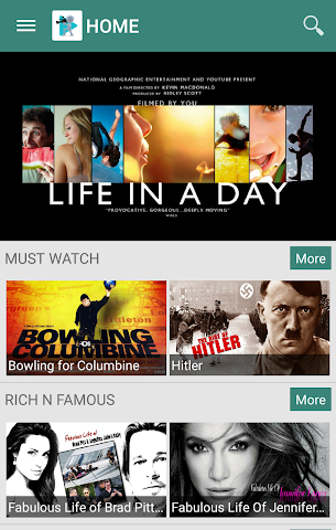 android Documentary World Screenshot 0