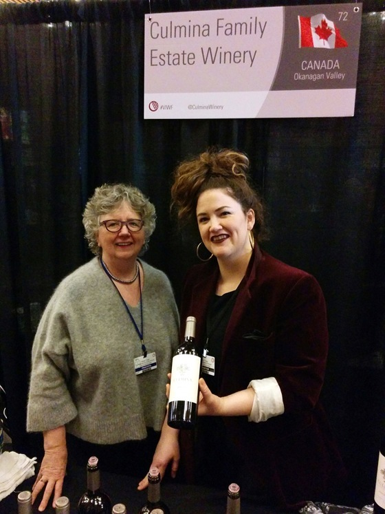 Elaine & Sara Triggs introduce Culmina's highly collectible new 2013 Merlot