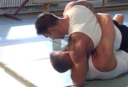 2 Men Wrestling