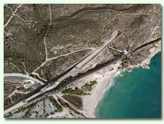 Túnel a Vandellòs - Apple Maps
