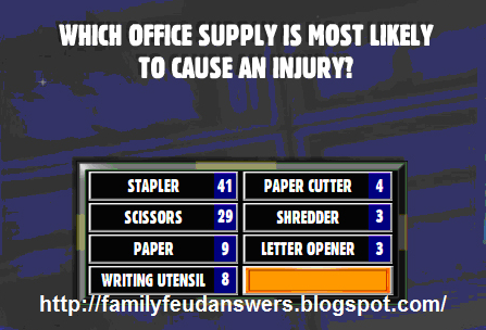 Which Office Supply Is Most Likely To Cause An Injury