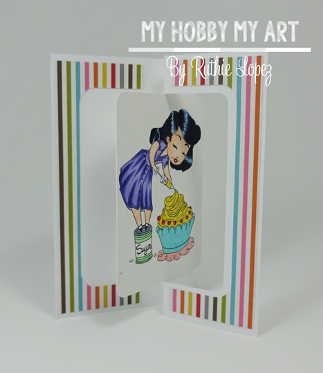 Latinas Arts and Crafts, Lia Stamps, Ruthie Lopez. 4