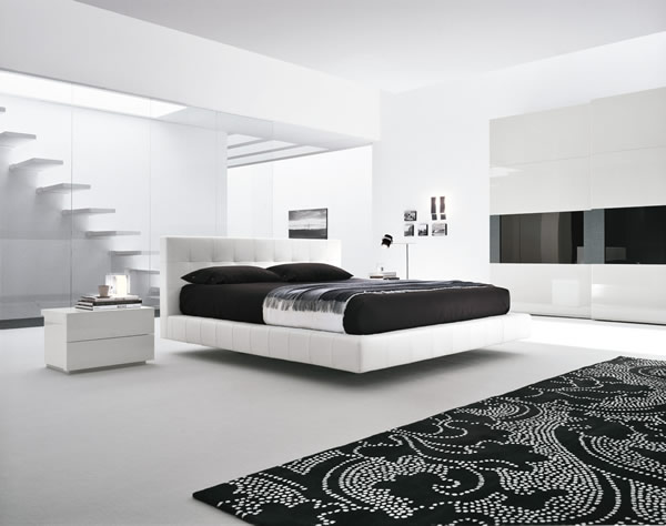Awesome Camera Da Letto Moderna Bianca Gallery - House Design Ideas ...