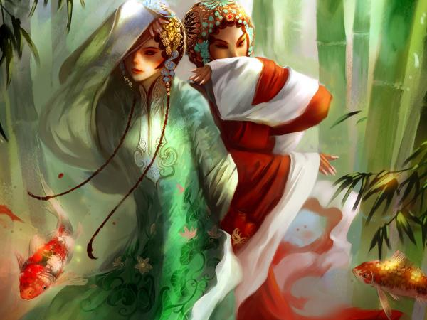 Mysterious Magian Of Nature, Fantasy Girls 1