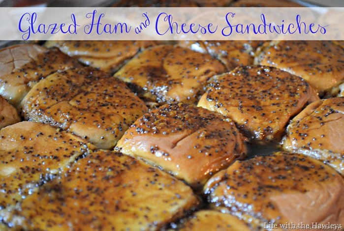 Glazed Ham and Cheese Sandwiches