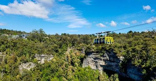 Riding the Skyway in Australia