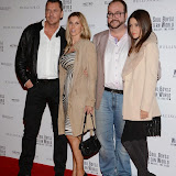 WWW.ENTSIMAGES.COM -    Craig Fairbrass, Elke Kellick, Jonathan Sothcott and Anouska Mond  arriving at    Soul Boys Of The Western World - UK film premiere at Royal Albert Hall, London September 30th 2014Premiere of documentary about the group, charting their rise to fame in the 1980s - Spandau Ballet The Film                                                    Photo Mobis Photos/OIC 0203 174 1069