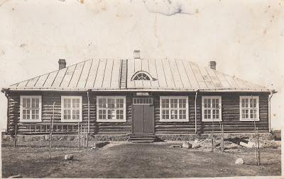 Здание школы, после 1936 г. (из личного архива Р. Григорьева)