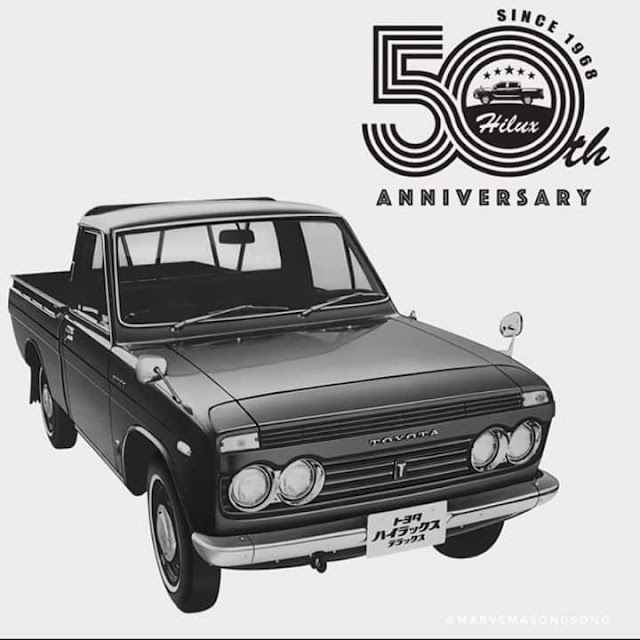 Happy 50th #Anniversary to our #ToyotaHILUX!