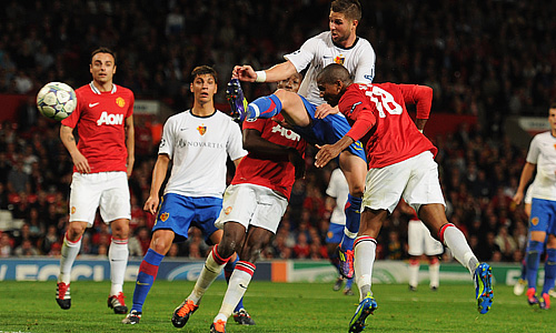Ashley Young ,Manchester United - Basel