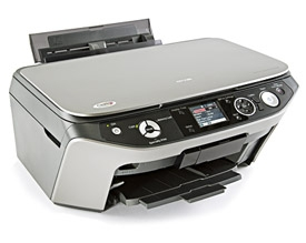 How to reset Epson RX580 printer