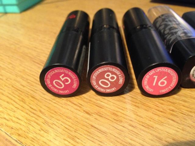 Rimmel Drugstore Lipsticks