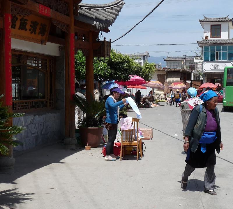 Chine. Yunnan Dali .En vélo vers le lac ERHAI - P1170676.JPG