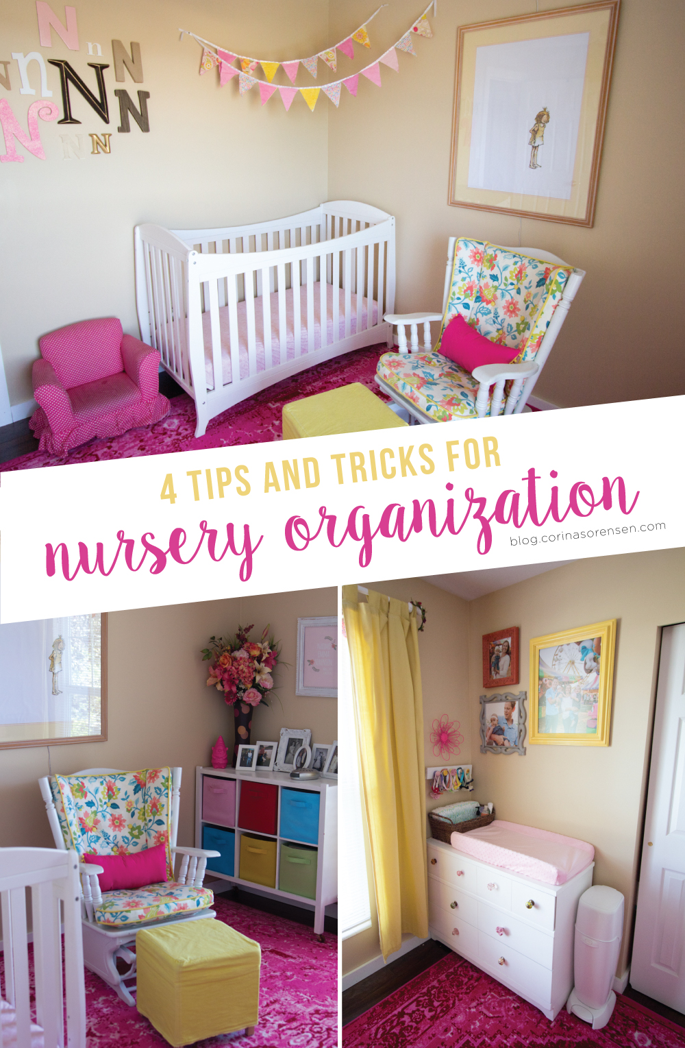 4 Tips and Tricks for Nursery Organization