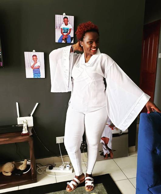 Former Tahidi High actress Nyaboke Moraa