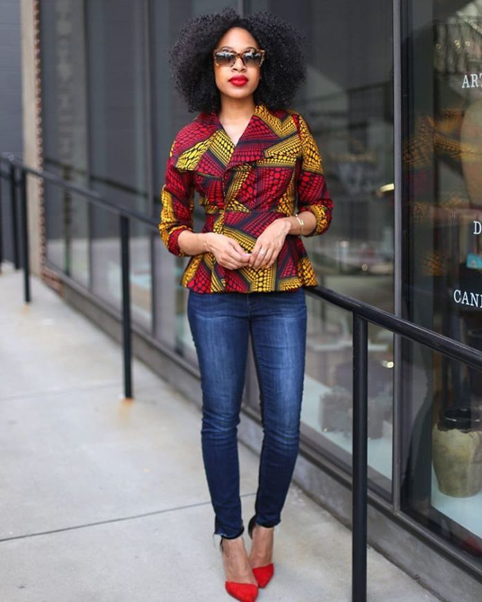 Latest Ankara Styles For Woman In 2018 1