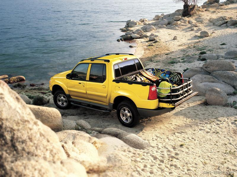 2003 ford explorer sport trac crew cab specifications pictures prices. Black Bedroom Furniture Sets. Home Design Ideas