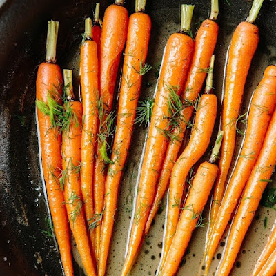 In Chic Eats: Brown Sugar Roasted Carrots Recipe Just In Time For Fall