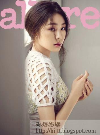 近日,花滑女王金妍兒為雜誌《allure Korea》6月號拍攝了一組時尚寫真。褪去選手光環的她更顯柔美優雅。