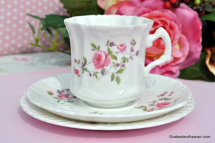Hammersley Vintage China Teacup Trio