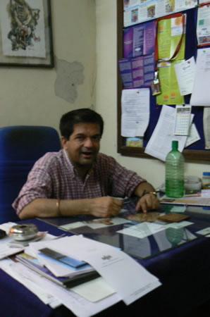 Humsafar drop-in center director Vivek