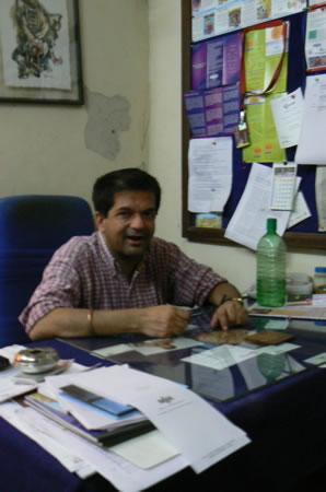 Humsafar drop-in center director Vivek