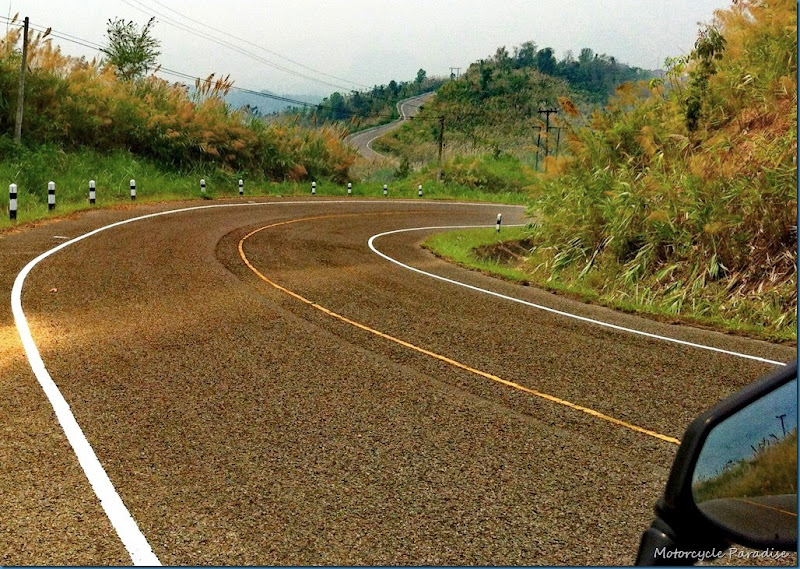 Thailand best motorcycle roads