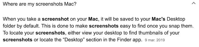 Where are my screenshots?