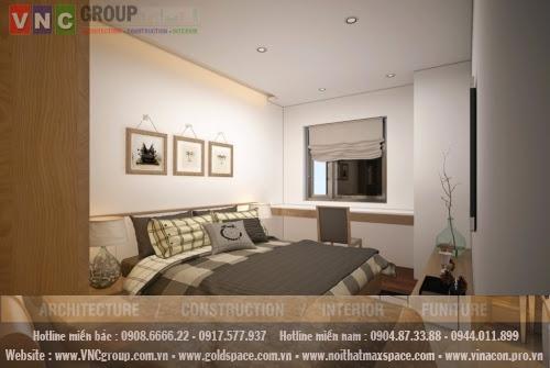 pngu2 3 Thiết kế nội thất chung cư Golden Place căn hộ B2 diện tích 118m2