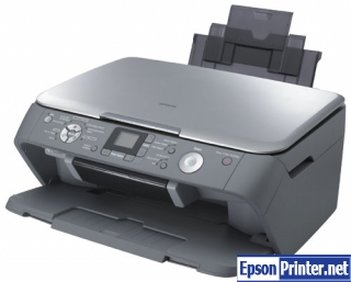 Reset Epson RX520 printing device by software