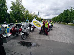 Photo: Inför Parc Ferme