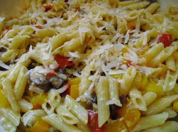 Sweet Bell Peppers & Pasta