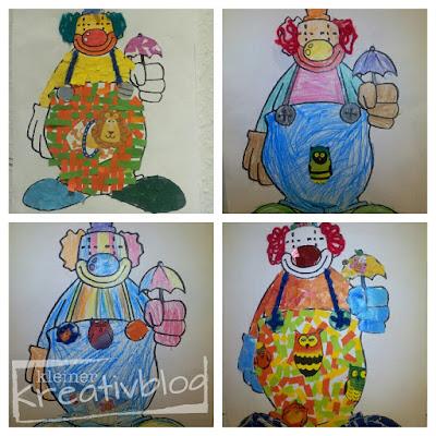 kleiner-kreativblog: Karnevalsdeko
