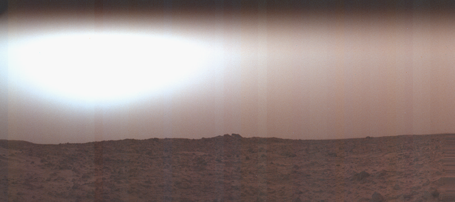 Sunrise on Chryse Planitia