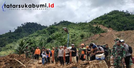 Medan Berat Lokasi Longsor Cisolok Sukabumi, PLN Back-up Tim Gabungan Evakuasi