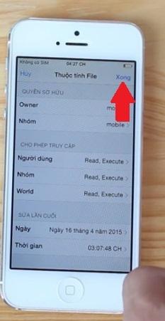 Hình 8 - Cách sửa không kiểm tra tài khoản *101# trên iPhone Lock